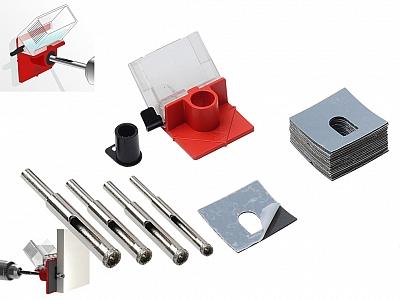 RUBI EASY GRES zestaw wiertło diamentowe 6/8/10/12mm