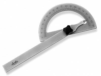 SCALA kątomierz tarczowy 80x120mm 0-180