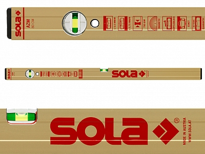 SOLA AZM30 poziomica magnetyczna 30cm