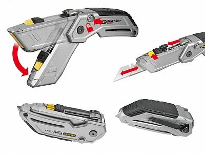 STANLEY 10-502 nóż nożyk składany 2-ostrza 18cm