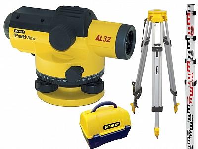 STANLEY AL32 niwelator optyczny osprzęt