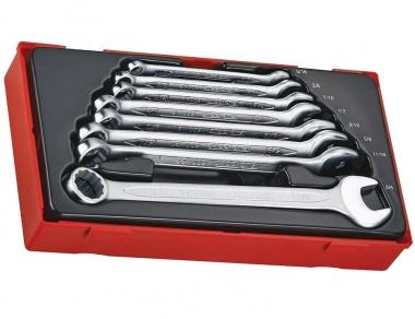 TENGTOOLS PAK zestaw klucz płasko-oczkowe
