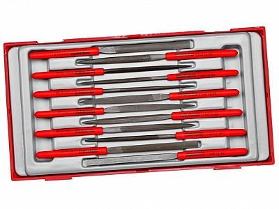 TENGTOOLS PAK TTNF12 zestaw pilniki iglaki 12szt