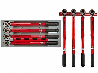 TENGTOOLS zestaw klucz dynamometr 1/2 x4