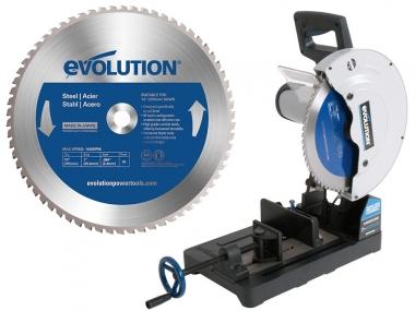 EVOLUTION EVO355 przecinarka piła do metalu 355mm + tarcza do stali