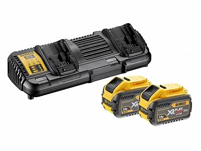 DEWALT DCB132X2 ładowarka akumulatory 9Ah 18V 54V