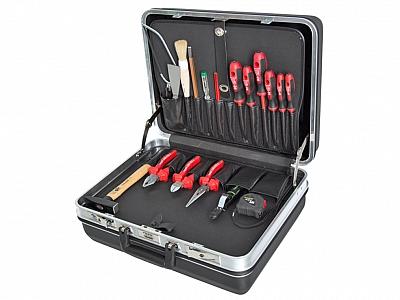 HAUPA walizka narzędziowa wyposażenie 19el