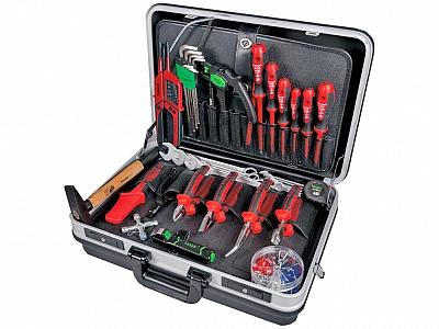 HAUPA zestwa narzędzi elekt walizka 24szt