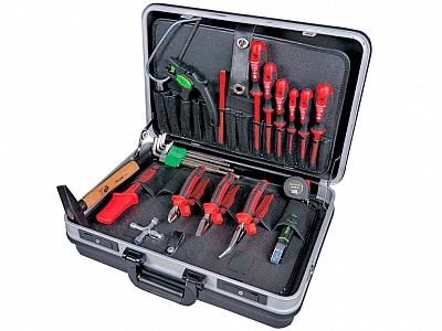 HAUPA zestwa narzędzi elekt walizka 18szt