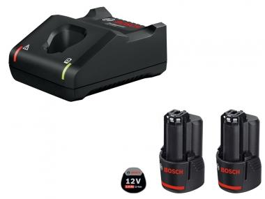 BOSCH GAL12V-40 ładowarka 12V akumulator 2,0Ah x2