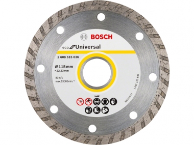 BOSCH tarcza diament beton TURBO 115mm