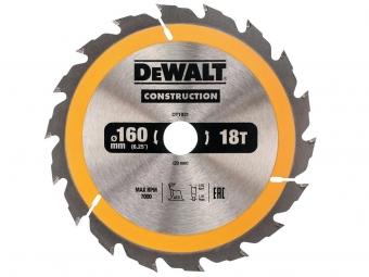 DeWALT DT1931 piła tarczowa do drewna 160mm/18z/20mm