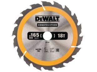 DeWALT DT1933 piła tarczowa do drewna 165mm/18z/20mm