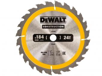 DeWALT DT1939 piła tarczowa do drewna 184mm/24z/16mm