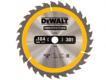 DeWALT DT1940 piła tarczowa do drewna 184mm/30z/16mm