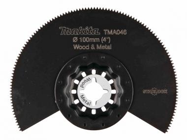 MAKITA brzeszczot segment. BiM do drewna i metali B-21319
