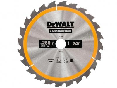 DeWALT DT1956 piła tarczowa do drewna 250mm/24z/30mm
