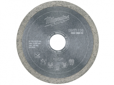 MILWAUKEE tarcza diamentowa gres 115mm