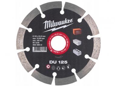 MILWAUKEE tarcza diamentowa segment 125mm