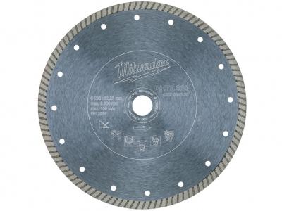 MILWAUKEE tarcza diamentowa beton pełna 230mm