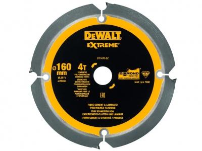 DeWALT DT1470 piła tarczowa do laminatu cementu 160mm/4z/20mm