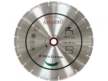ABRABORO piła tarcza diament beton 350mm