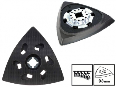 BOSCH Starlock AVZ93G płyta szlifierska 2608000493