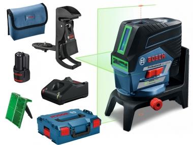 BOSCH GCL2-50CG laser krzyżowy punktowy ZIELONY L-BOXX