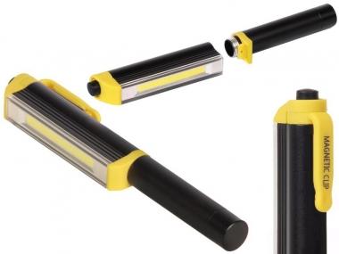URZ0867 lampa warsztatowa latarka długopis na magnes