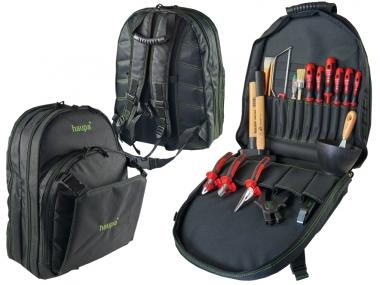 HAUPA 221280 plecak z narzędziami + 20 sztuk narzędzi