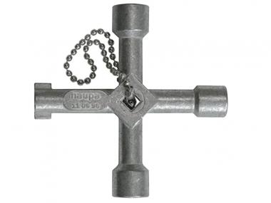 HAUPA 110696 klucz do szafki rozdzielczej