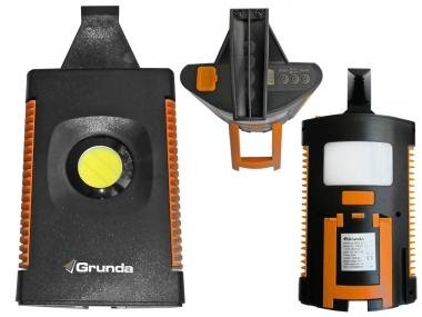 GRUNDA PRO compact lampa warsztatowa akumulatorowa LED