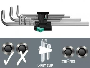 WERA 05021909001 klucze imbus hex 9szt.