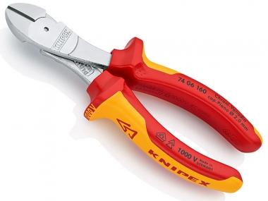 KNIPEX 7406160 szczypce cęgi boczne VDE 160mm
