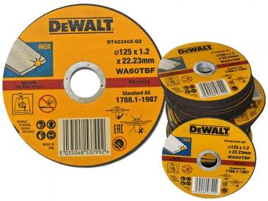 DeWALT DT42340 tarcza korundowa metalu 125mm x100
