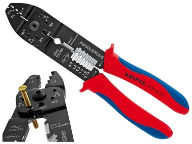 KNIPEX 9721215B praska zaciskarka do końcówek typu F