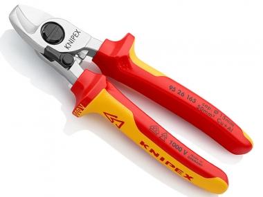 KNIPEX 9526165 obcinak nożyce do kabli VDE 165mm