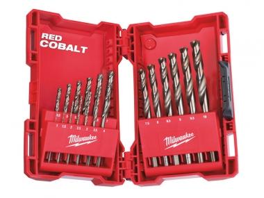MILWAUKEE zestaw wierteł do metalu HSS-G Cobalt  x19