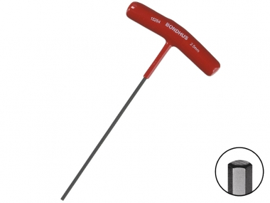 BONDHUS 15254 klucz imbusowy hex 2,5 mm