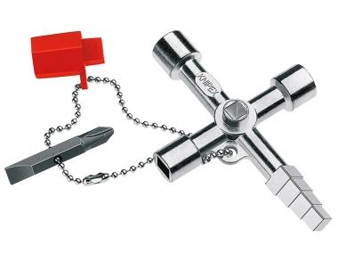 KNIPEX 001104  klucz do szafek rozdzielczych
