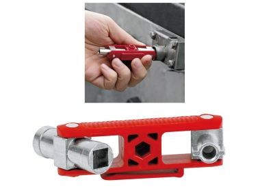 KNIPEX 001106V02  klucz do szafek rozdzielczych