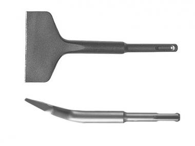 ABRABORO dłuto płaskie odgięte łopatka SDS Plus 75/165mm