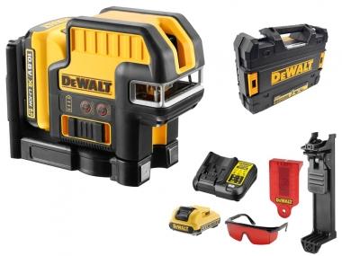 DeWALT DCE0825D1R laser krzyżowy + pion 30m