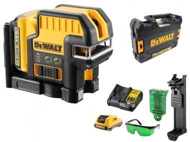 DeWALT DCE0825D1G laser krzyżowy ZIELONY + pion 30m