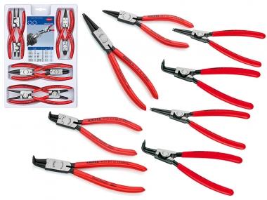 KNIPEX 002004V01 zestaw szczypce do pierścieni zew/wew x8