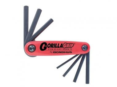 BONDHUS 12592 klucze imbusowe metryczne 7szt 1,5 - 6mm