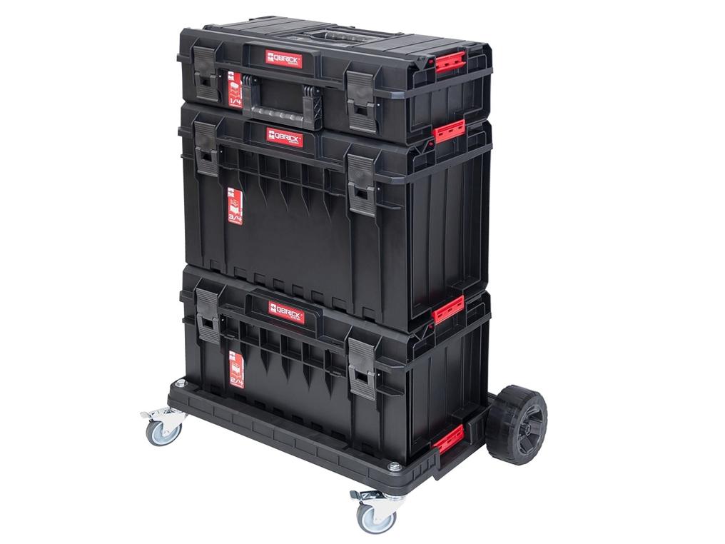 401952db2de182 QBRICK One Basic zestaw skrzynka organizer wózek - TRANSPORTOWANIE -  Robo-Kop