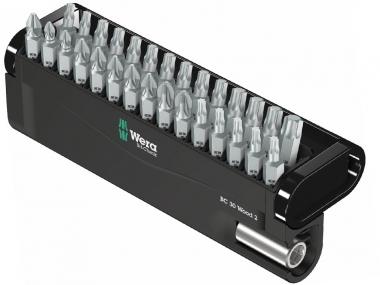 WERA 05057432001 zestaw bity adapter 30el