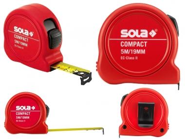 SOLA Compact miara taśma stalowa zwijana 5m