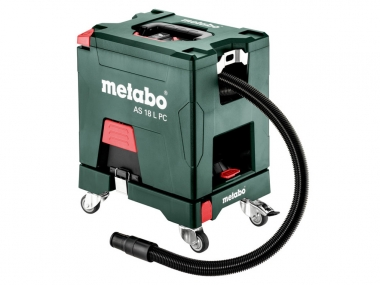 METABO AS 18 L PC SET odkurzacz akumulatorowy 18V 7,5L